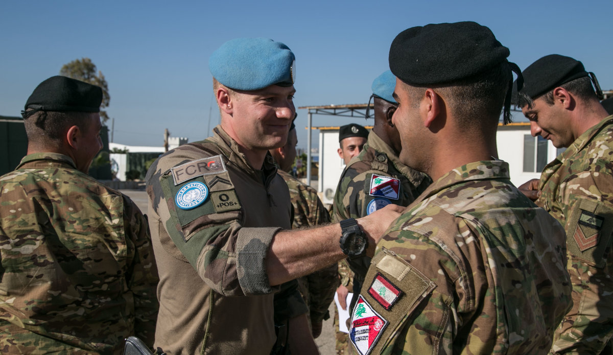 French Peacekeepers Train Together With Laf Dog Handlers Unifil
