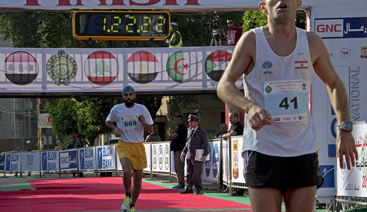 UNIFIL runs the ISF half-marathon | UNIFIL