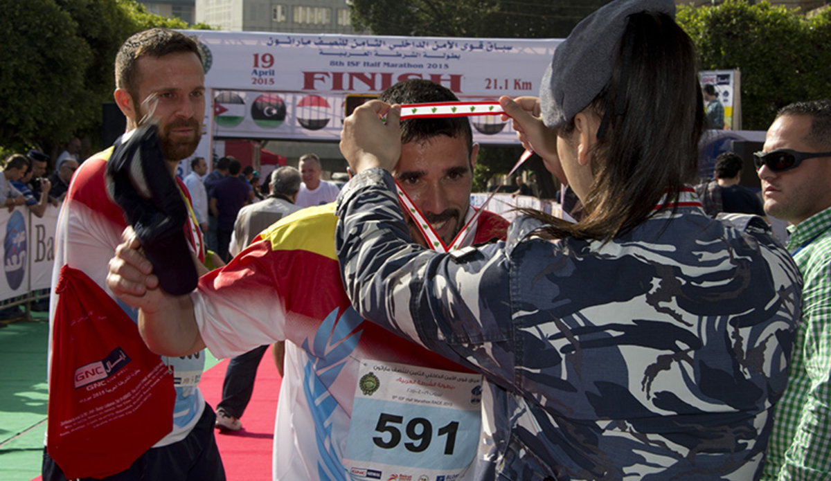 UNIFIL runs the ISF half-marathon | UNIFIL