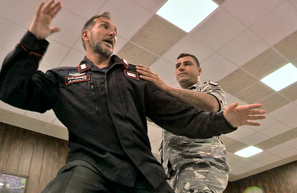 The 5-day course covered practical classes in topics such as self-defense, Code of Conduct and arrest.