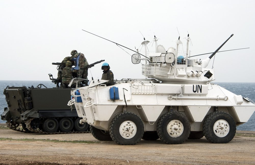 Steel Storm is a five-day joint training exercise between UNIFIL and the LAF. It involves live firing.