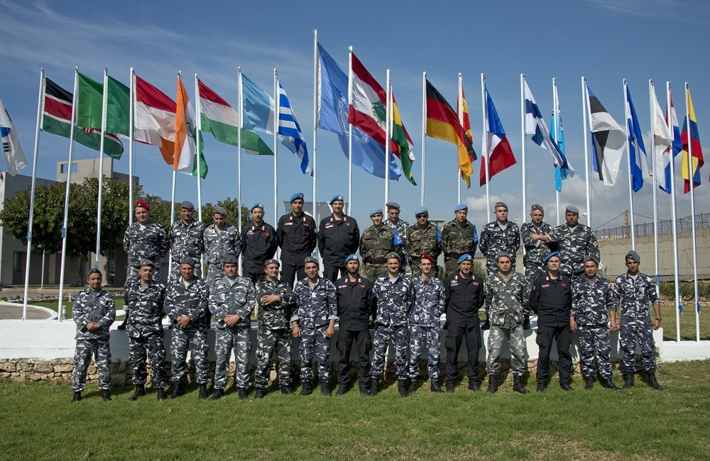 The recent police exchange course involved police personnel from Lebanon's ISF, and three international units from UNIFIL, the Carabinieri from Italy, Gendarmerie from France and the Guardia Civil from Spain.