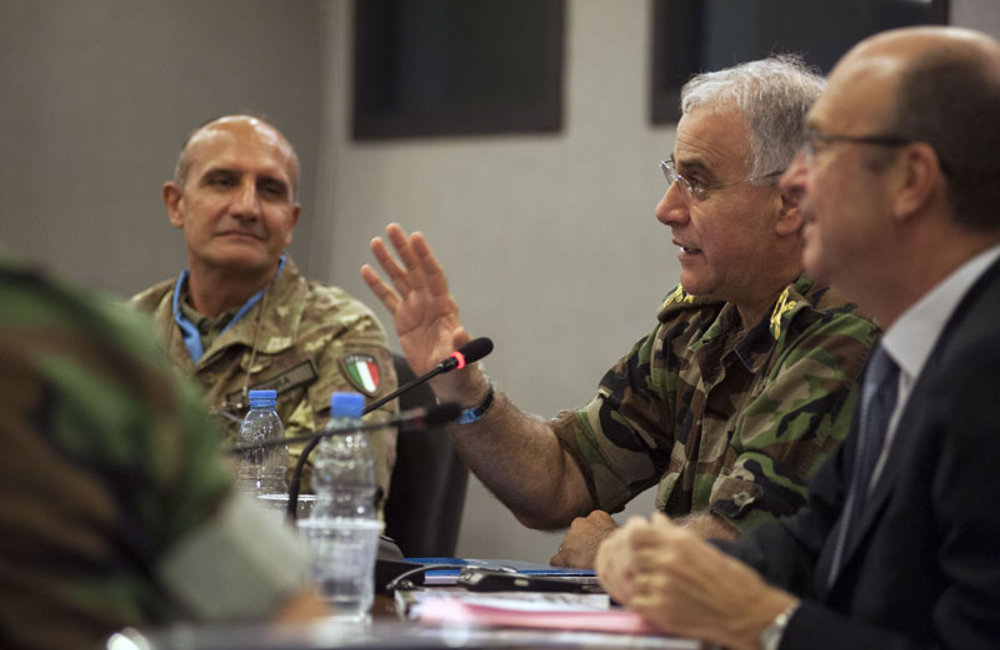 Meeting on assistance for LAF