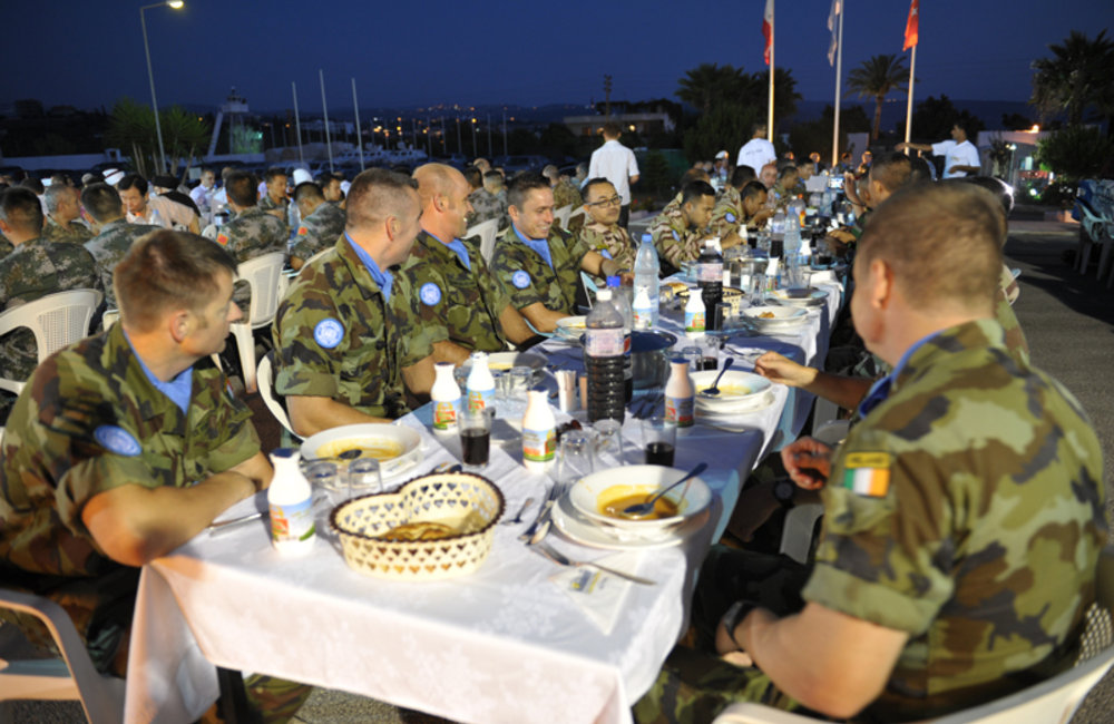 UNIFIL Turkish battalion host Ramadan Iftar