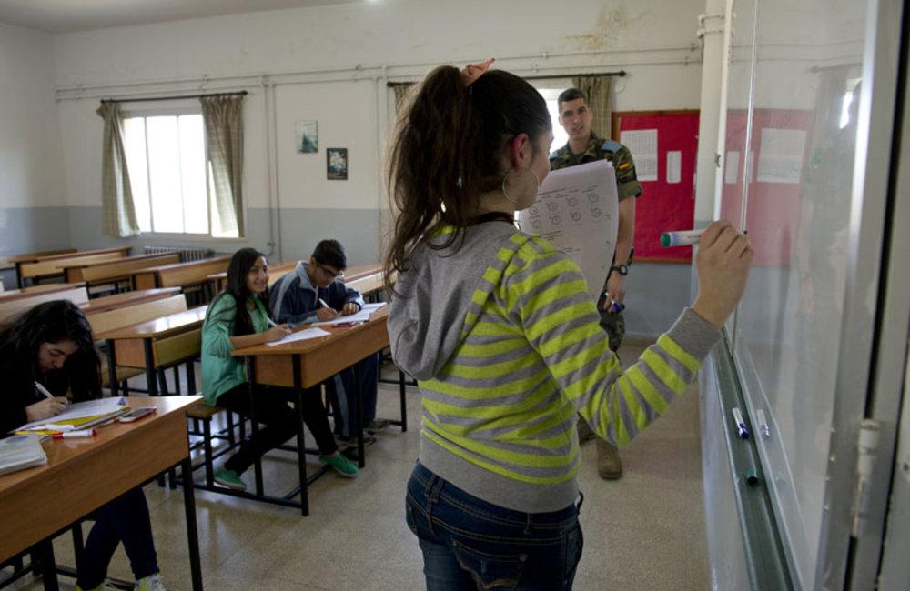 Spanish classes, education and fun, Marjeyoun, South Lebanon.