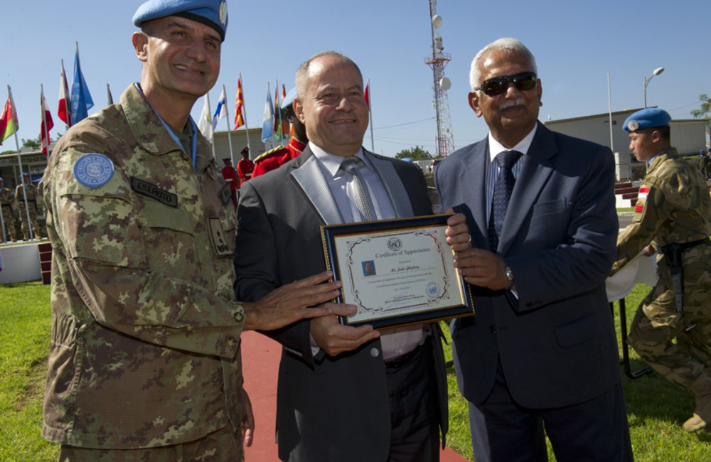 UNIFIL celebrates the 68th anniversary of the founding of the United Nations