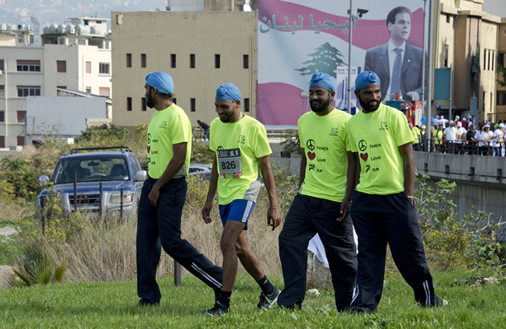UNIFIL runs for peace - Beirut Marathon