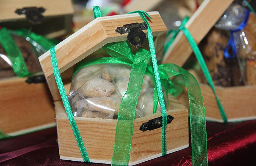 Handmade items bring out Christmas spirit