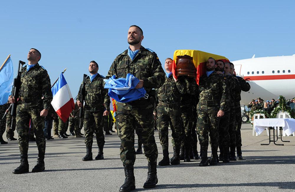 UNIFIL Honours fallen Peacekeeper