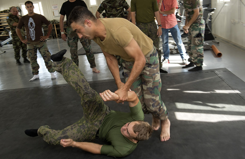 LAF, UNIFIL jointly train in unarmed combat exercise