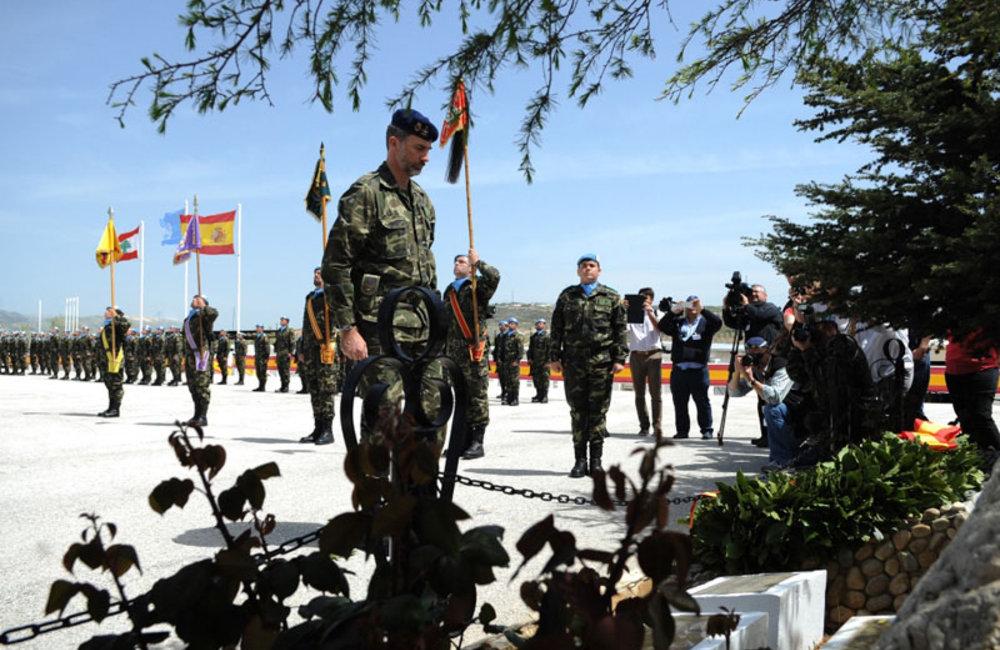 King of Spain Felipe VI visits UNIFIL