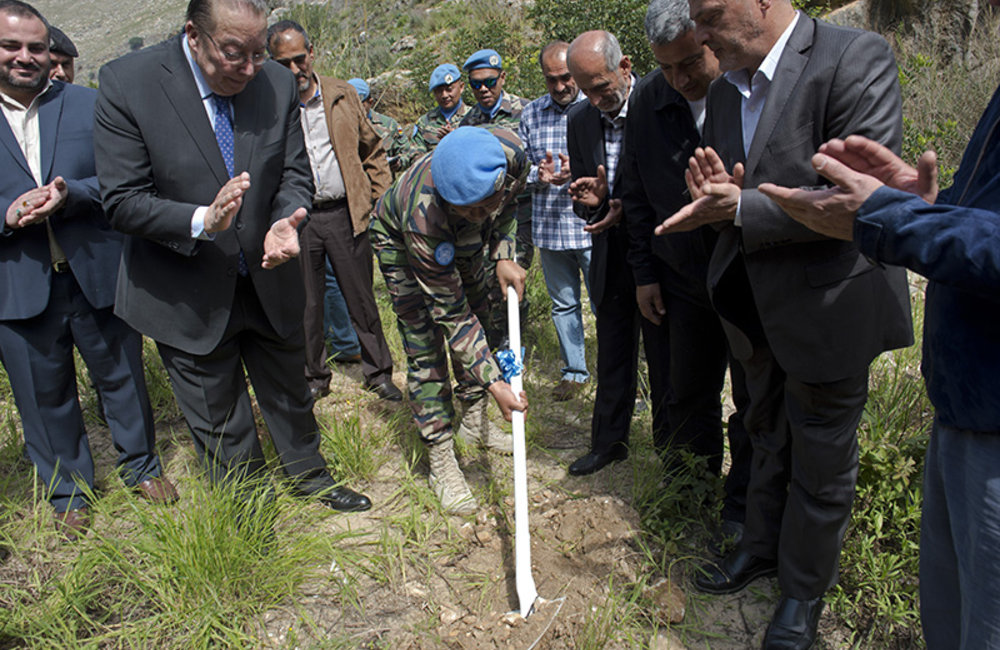UNIFIL, Environment Ministry launch Greening the South initiative