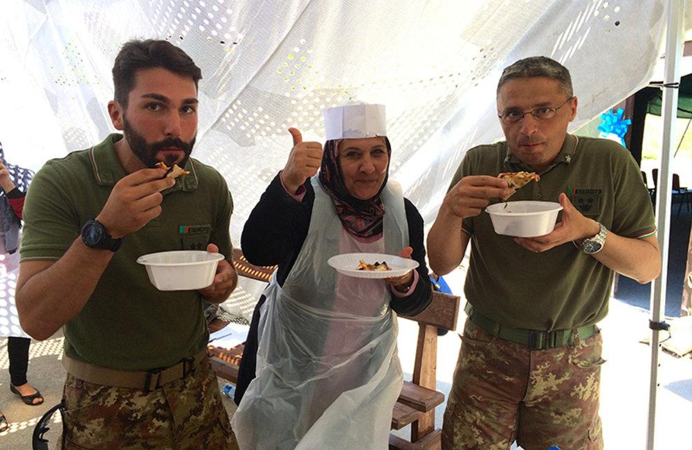 Southern Lebanese women master Italian cuisine