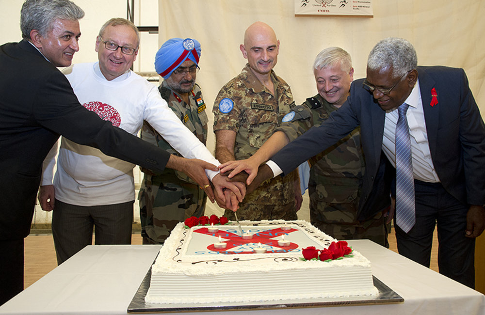 UNIFIL runs in solidarity with World AIDS Day