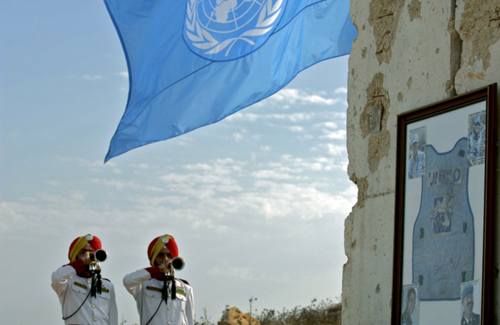 Paying tribute to UNIFIL's fallen peacekeepers