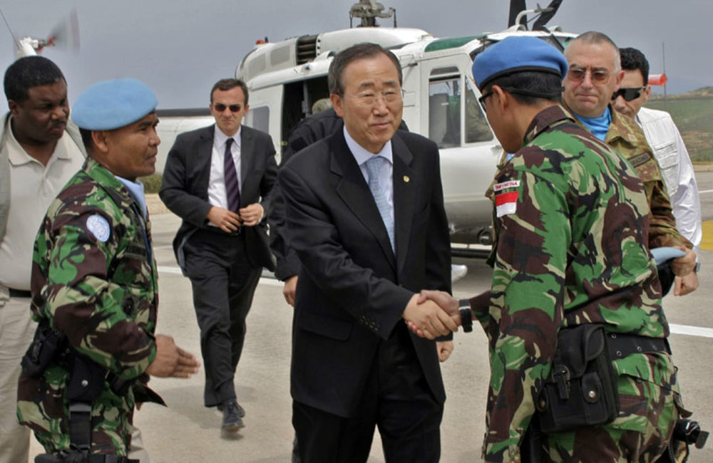 UN Secretary-General's first visit to UNIFIL