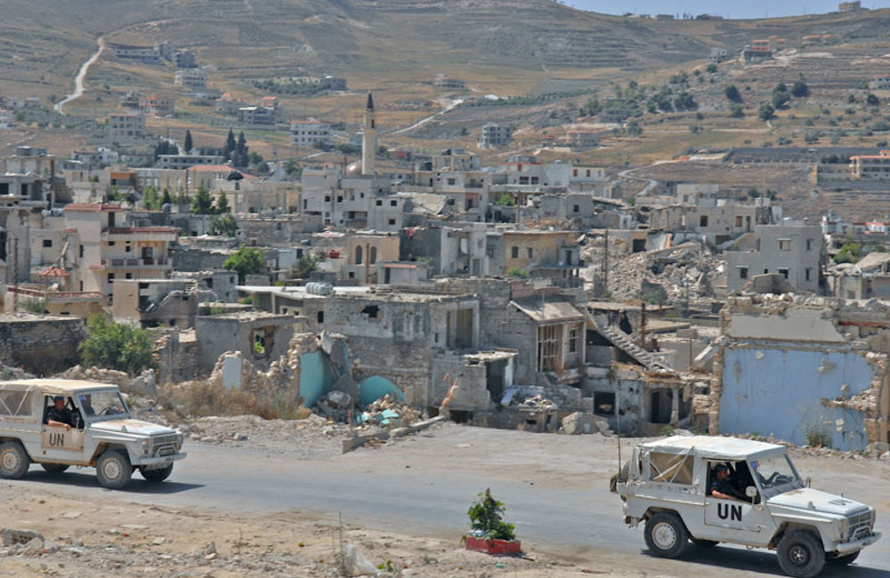 UNIFIL ground operations in south Lebanon