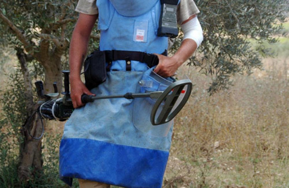 UNIFIL's demining activities.
