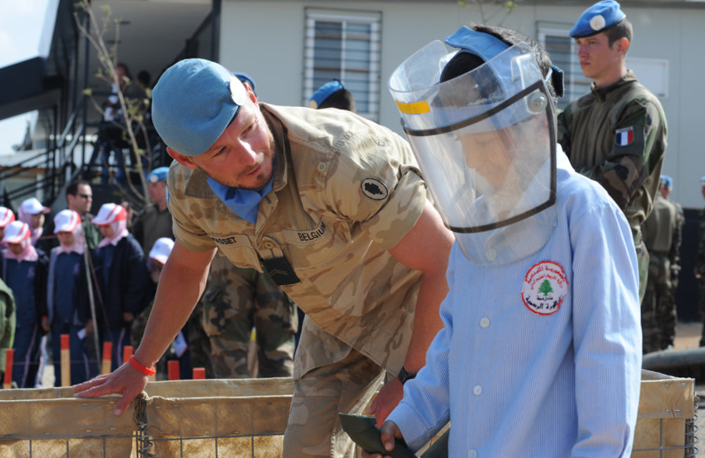 UNIFIL marks International Day of Mine Awareness and Assistance in Mine Action