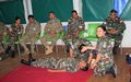 Nepalese peacekeepers organize first-aid training with LAF