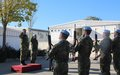 Chief of General Staff of Serbian Armed Forces visits UNIFIL