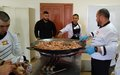 El Khiam students learn to make Spanish cuisines