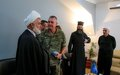 Local religious leaders meet with UNIFIL sector east brigade to enhance ties