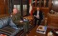 UNIFIL commander Beary meets with Speaker Berri