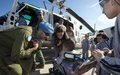 South Lebanese students learn about UNIFIL's work