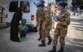 Sector West peacekeepers perform integrated outreach walks