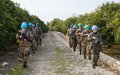 Korean peacekeepers host Italian counterparts for 3 days