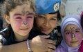 اليونيفيل تستضيف أطفال مدارس من جنوب لبنان بمناسبة اليوم العالمي للطفل