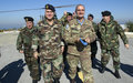 LAF Commander General Jean Kahwagi visits UNIFIL in Naqoura