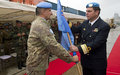 UNIFIL's Maritime Task Force (MTF) Admiral hands over Command