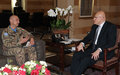 UNIFIL Force Commander meets Prime Minister Tammam Salam