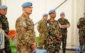UNIFIL HoM visits NEPBATT to express his condolences