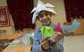 Southern children delve into Origami
