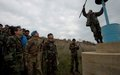 UNIFIL Head of Mission reviews Blue Line marking near Kafer Kela