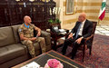 UNIFIL Head of Mission calls on Lebanese leaders in Beirut