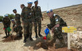 UNIFIL's Indian peacekeepers launch afforestation drive
