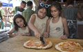 UNIFIL Italian Peacekeepers share pizza making with children of LAF martyrs