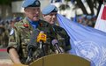 On International Peace Day, UNIFIL head lauds progress in achieving peace in south Lebanon