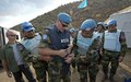 UNIFIL's Chief Inspects Mine Clearance Work