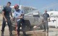 Lebanese students visit UNIFIL's Force Commander Reserve in Deir Kifa