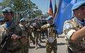 اليونيفيل تحتفل باليوم الدولي لحفظة السلام التابعين للأمم المتحدة