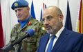 Lebanese Minister of Defense visits UNIFIL headquarters