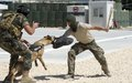 K9 training with UNIFIL and LAF