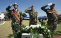 UNIFIL marks International Day of Peace in Naqoura