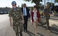 EU Ambassadors visit UNIFIL HQ and the Blue Line