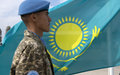 Kazakh flag raised amidst special ceremony